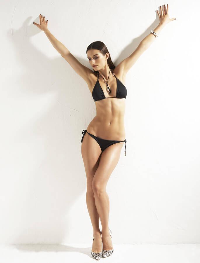Bikinifling Black triangle bikini