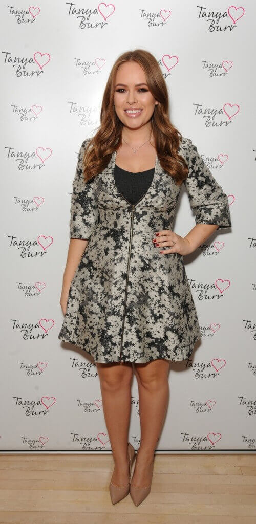 TANYA BURR AT HER LAUNCH AT THE SANDERSON HOTEL