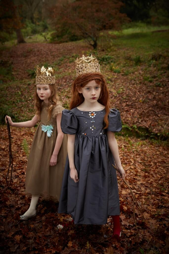 Dresses by Bonpoint. Crowns by Atticus and Gilda