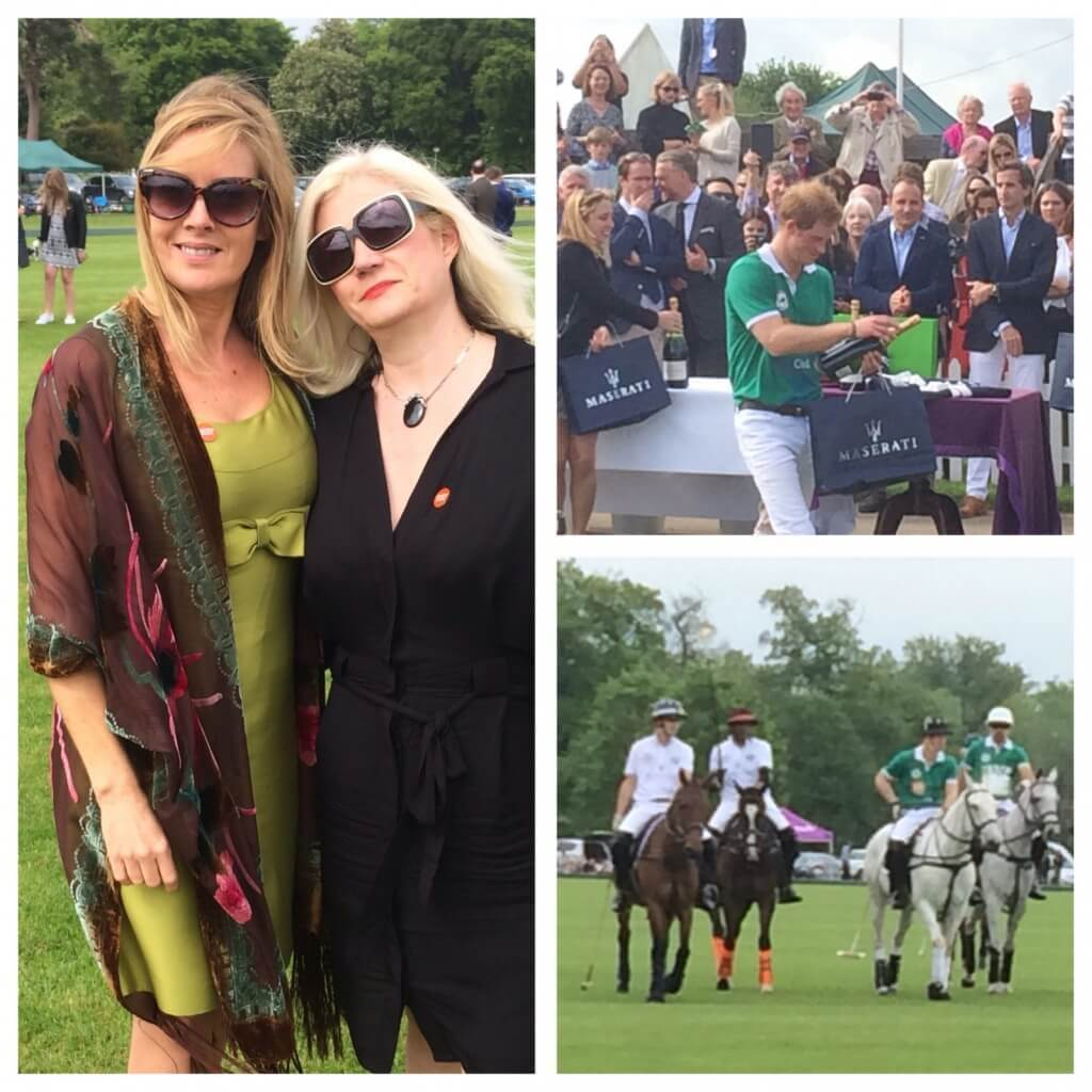 Myself and KP and the polo prize giving