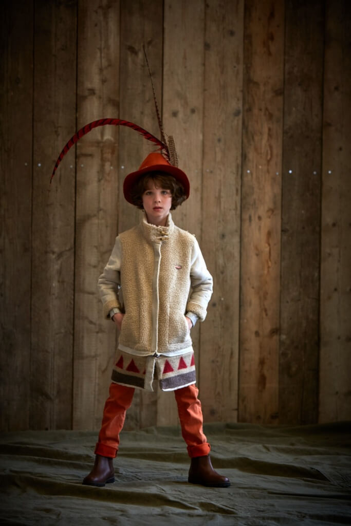 JACK wears jacket, £149 by Scotch R'Belle. Trousers, £55 and hat £40 all 4-16yrs by Scotch Shrunk.